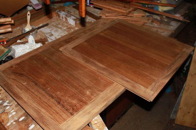 Teak planking plywood